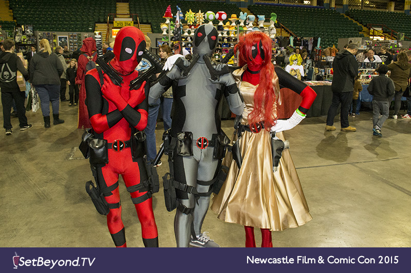 Deadpool Trio
