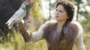 Snow White Talking to Nature